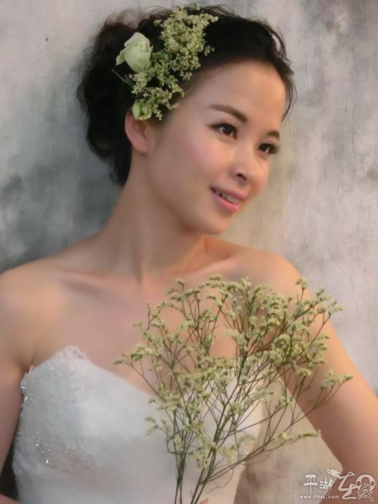韩式新娘鲜花整体造型